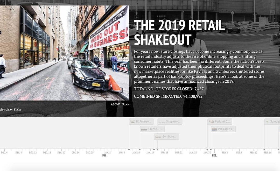 Take a look at some of the prominent #retail stores that have announced closings in 2019 with our interactive timeline: https://t.co/M0moazqJxf  How do you think the rest of the year will shake out? https://t.co/xFyFx3EAP1