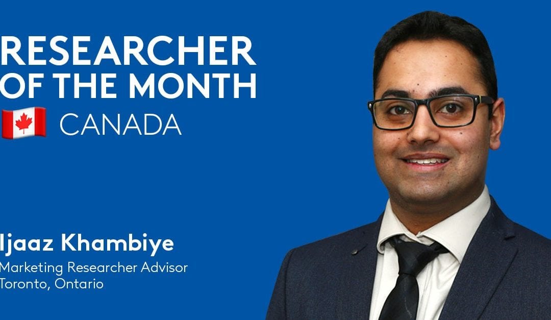 "Ijaaz Khambiye, Marketing Research Advisor, is @CoStarCanada's latest Researcher of the Month! 🇨🇦  His colleagues praise that he ""always remains positive and continuously pushes through challenging requests.""  👏 Congratulations, Ijaaz! https://t.co/JEAKsAB79s"