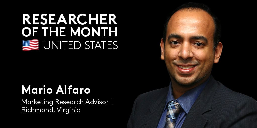 👏 #RVA's Mario Alfaro, Marketing Research Advisor II, is our @CoStarUS Researcher of the Month!  Mario's commitment to building …