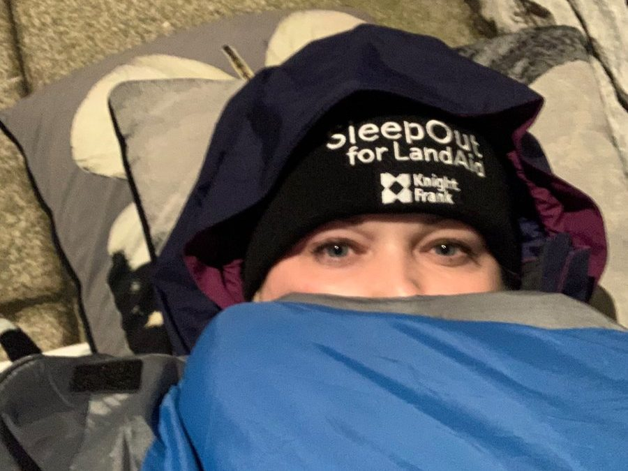 CoStar Builds London raised over £2,500 for @LandAid during their #SleepOut2021 campaign! ⛺️  By sleeping outside, five @CoStarU…