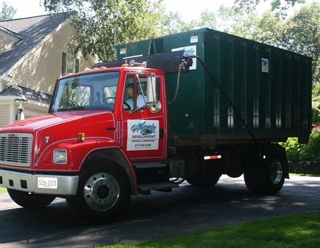 10, 15, and 20-yard dumpsters available to help you dispose of your unwanted material. #WaverlyDevelopment #dumpsterrental #cleanouts