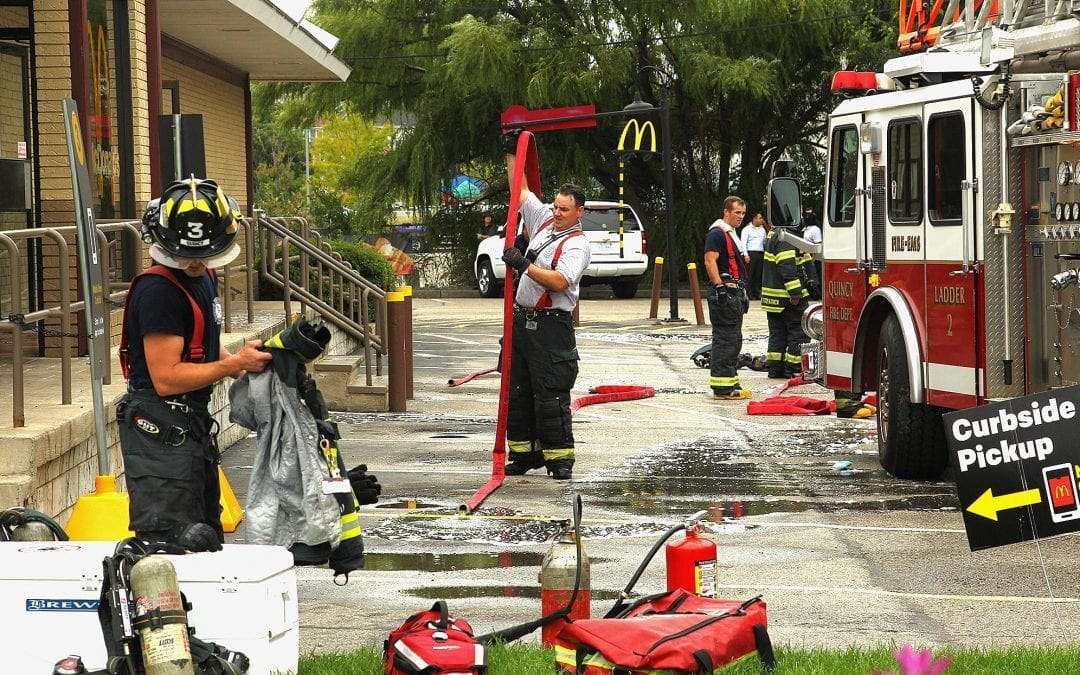 Frying station catches fire at Quincy McDonald's