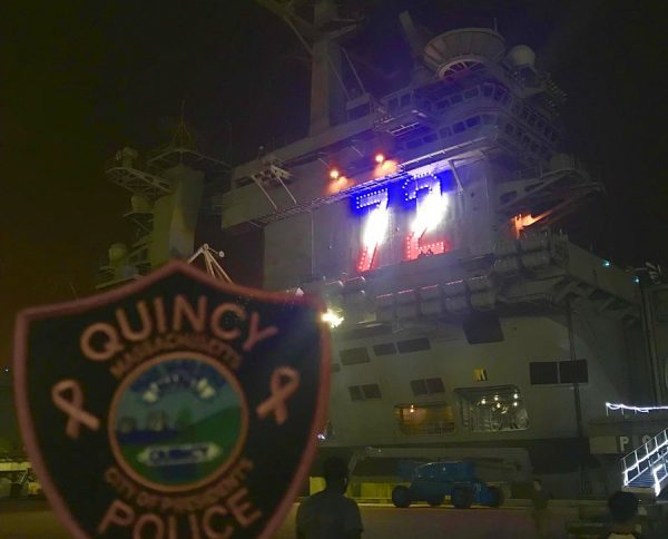 Our #PinkPatchProject is aboard the Nimitz-class aircraft carrier USS Abraham Lincoln (CVN72) as it is underway in support of naval operations in the Central Region #ArabianSea #Iran #USNavy #deployment #USSAbrahamLincoln #CVN72 https://t.co/6d739mRz82
