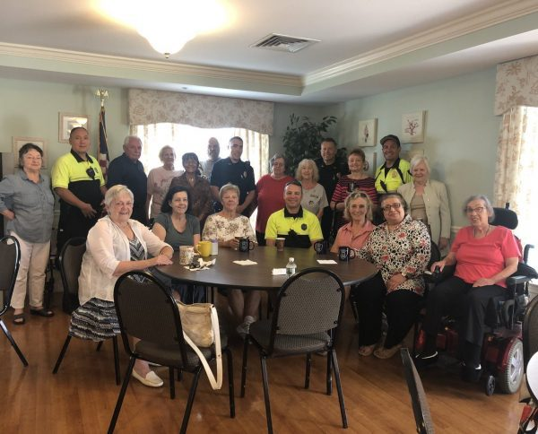 Some great conversation this morning at #TheMoorings, 420 East Squantum St as we held our #CoffeeWithACop for seniors. Thank you to everyone who came by to chat! https://t.co/RZ9Gn3PuHi