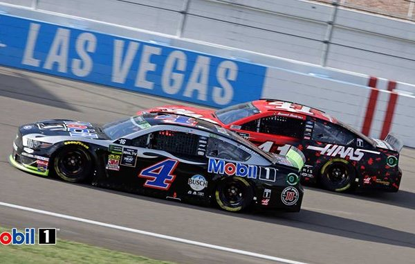 Kevin Harvick at the Las Vegas Motor Speedway Photos from Mobil 1's post