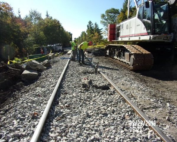 #SouthCoastRail Phase I work continues with track alignment as part of the early action work to…